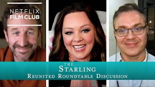 Melissa McCarthy Chris ODowd and Ted Melfi reunite for THE STARLING