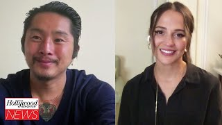 Blue Bayous Justin Chon Alicia Vikander Talk About the Emotional Film THR Interview