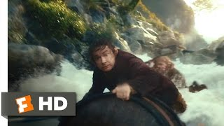 The Hobbit The Desolation of Smaug  Barreling Down the River Scene 410  Movieclips