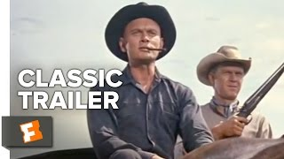 The Magnificent Seven Official Trailer 1  Charles Bronson Movie 1960 HD