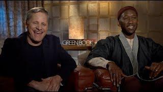 GREEN BOOK interviews  Mahershala Ali Viggo Mortensen Peter Farrelly