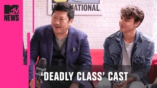 Benedict Wong  Deadly Class Cast on Adapting the Graphic Novel  MTV News