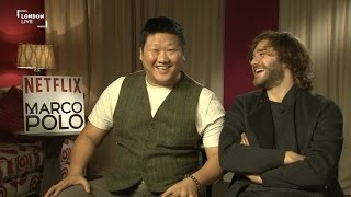 Marco Polo cast on the incredible world of the Kublai Khan empire