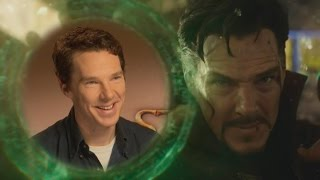 EXCLUSIVE Benedict Cumberbatch and Benedict Wong on Doctor Strange Infinity War and More