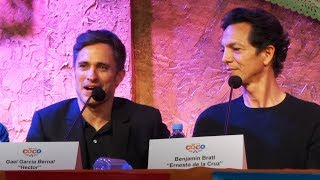 DisneyPixars Coco press conference with Gael Garcia Bernal Benjamin Bratt Edward James Olmos