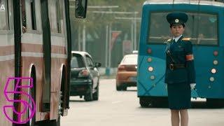 Pyongyangs Mesmerising Traffic Cops  Michael Palin In North Korea  Channel 5