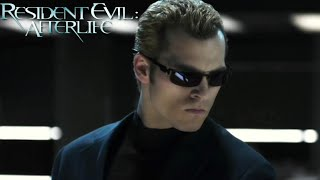 Shawn Roberts Scenes as Albert Wesker from Resident Evil Afterlife 2010 1