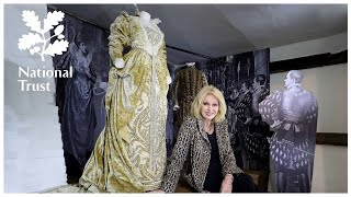 Joanna Lumley honours actress Ellen Terry at the National Trusts Barn Theatre