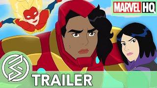 Ironheart Arrives Marvel Rising Heart of Iron  TRAILER Feat Sofia Wylie
