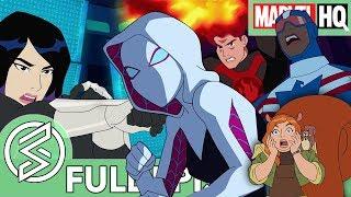 Marvel Rising Chasing Ghosts  Feat Dove Cameron Chloe Bennet  Milana Vayntrub  FULL EPISODE